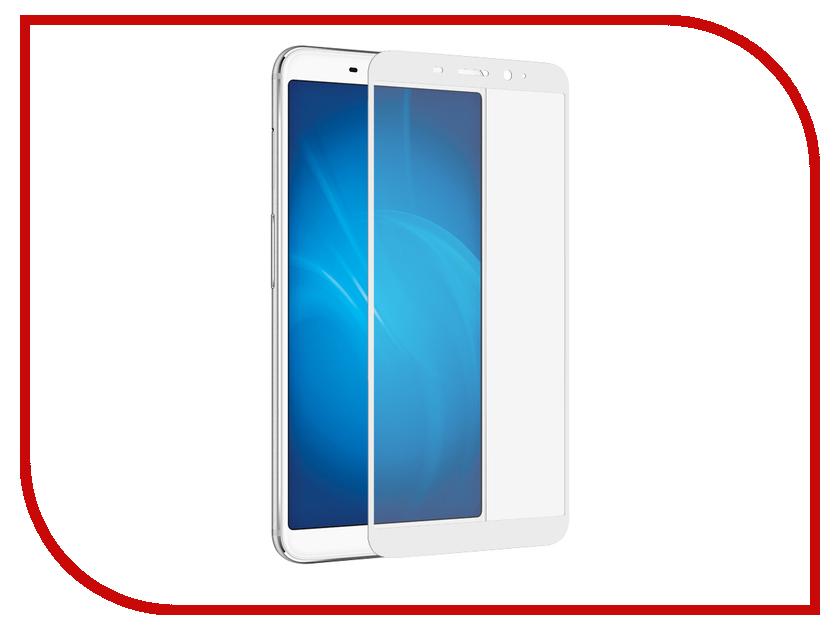 цена на Аксессуар Защитное стекло для Meizu M6s 2018 Onext с рамкой White 41790