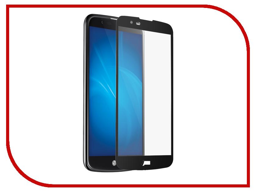 Аксессуар Защитное стекло для LG K10 Onext с рамкой Black