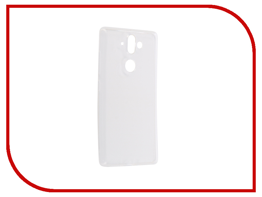 Аксессуар Чехол для Nokia 8 Sirocco Onext Silicone Transparent 70577 аксессуар чехол для samsung galaxy a5 2017 onext silicone transparent 70513