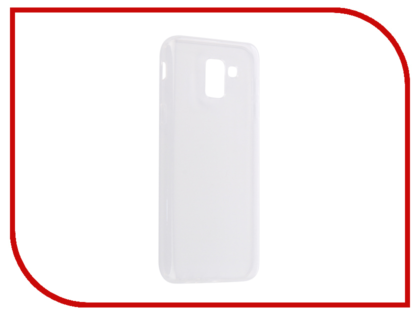 Аксессуар Чехол для Samsung Galaxy J6 2018 Onext Silicone Transparent 70596 аксессуар чехол для samsung galaxy j3 2016 onext silicone transparent 70508