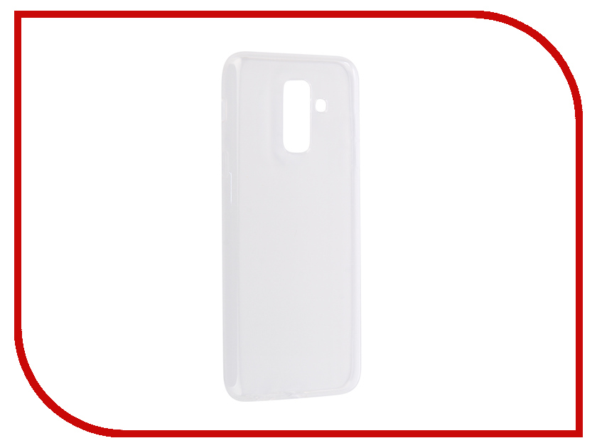Аксессуар Чехол для Samsung Galaxy A6 Plus Onext Silicone Transparent 70602 аксессуар чехол для samsung galaxy j3 2016 onext silicone transparent 70508