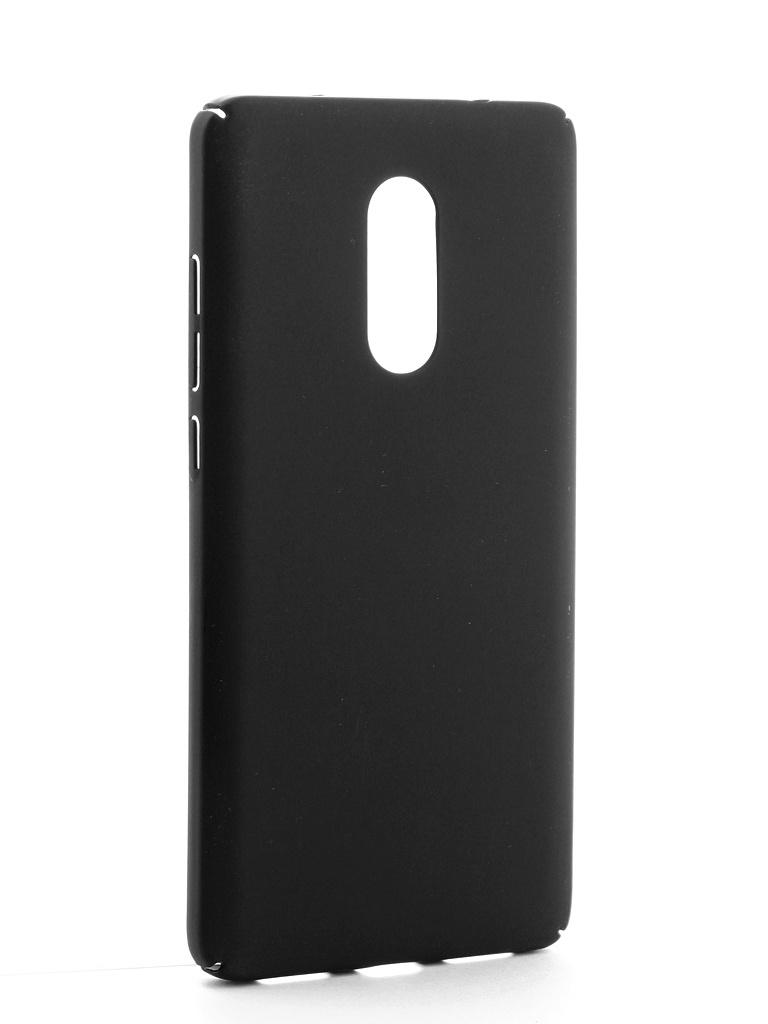 Аксессуар Чехол CaseGuru для Xiaomi Redmi Note 4 Soft-Touch 101609