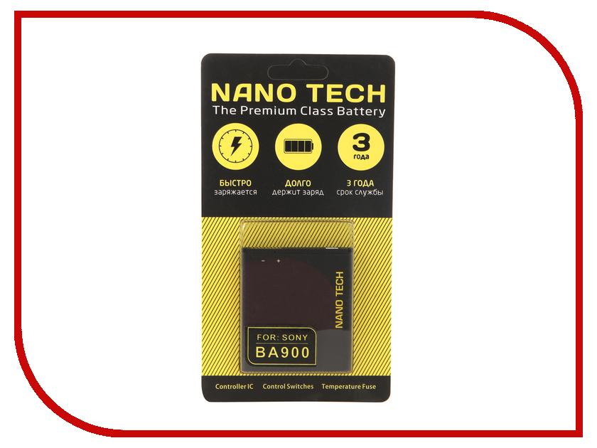 Аккумулятор Nano Tech (Аналог BA-900) 1700mAh для Sony Xperia TX/Xperia M/Xperia J батарея для мобильных телефонов 2600mah sony st26i xperia j lt29i xperia t tx gx lt30