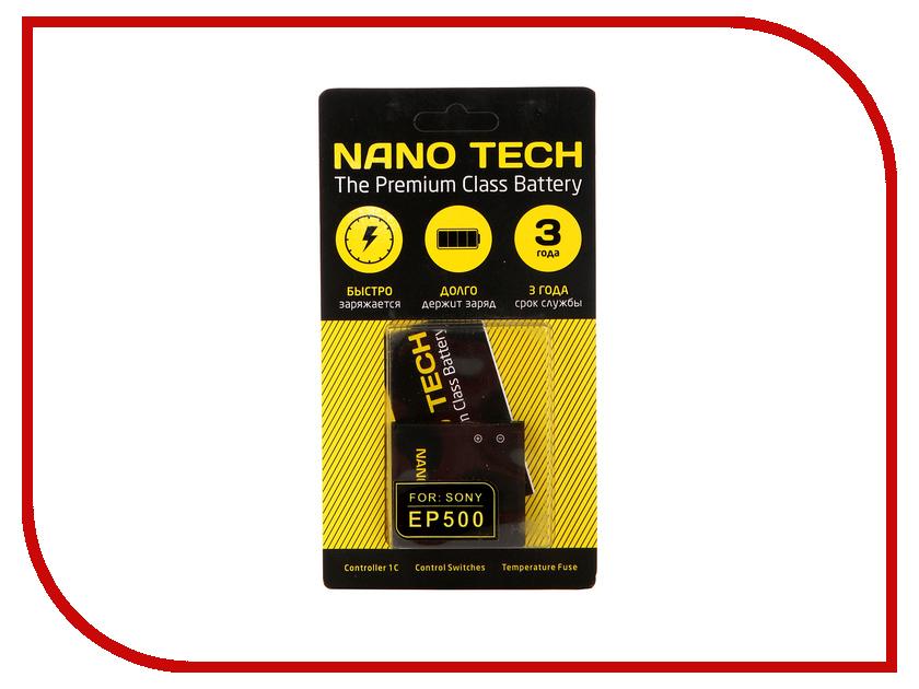 Аккумулятор Nano Tech (Аналог EP-500) 1200mAh для Sony W8/WT19i/Xperia X8/U5i Vivaz/Xperia Mini