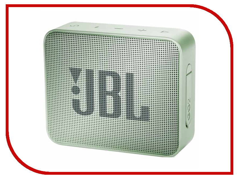 Колонка JBL GO 2 Mint колонка jbl go 2 coral orange
