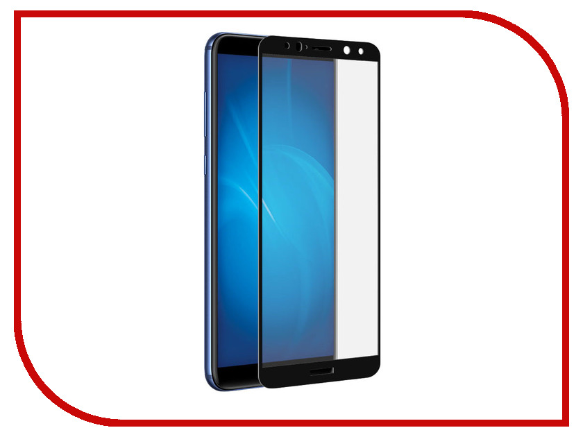 Аксессуар Противоударное стекло для Huawei Mate 10 Lite Innovation 2D Black 12105 смартфон huawei mate 20 lite black