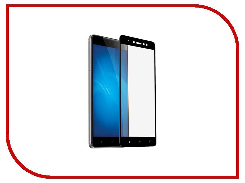 Аксессуар Противоударное стекло для Xiaomi Redmi Note 5A Innovation 2D Black 12119 аксессуар стекло противоударное для xiaomi redmi note 5 pro mi 6x gurdini 2d full screen 0 26mm black 906231
