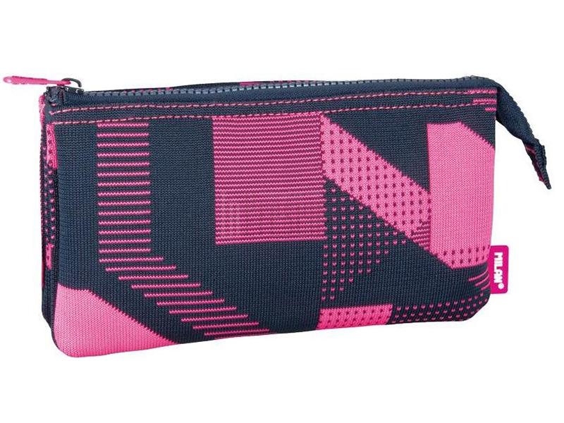 Пенал Milan Knit Pink 081139KNP / 259008 drop shoulder striped knit tee