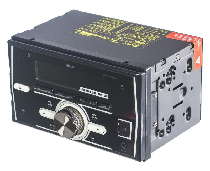 Автомагнитола ACV AVS-2700BM автомагнитола acv avs 1502r
