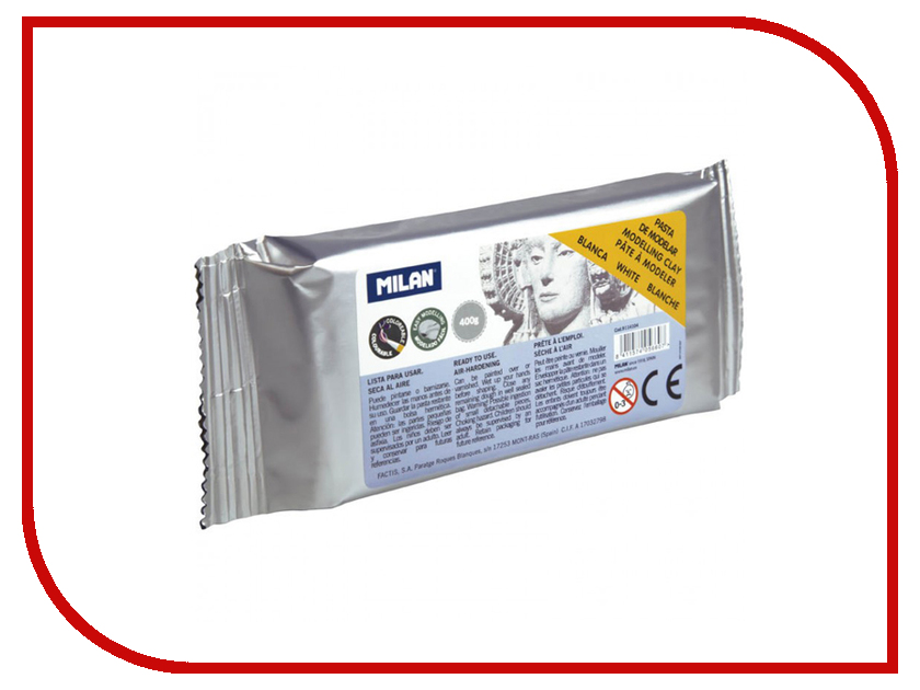 Набор для лепки Milan Глина 400g White 9114104 / 214109 1 bag dv601k compatible developer for minolta 7165 650 7155 7255 5510 551 7210 7272 printer copier parts