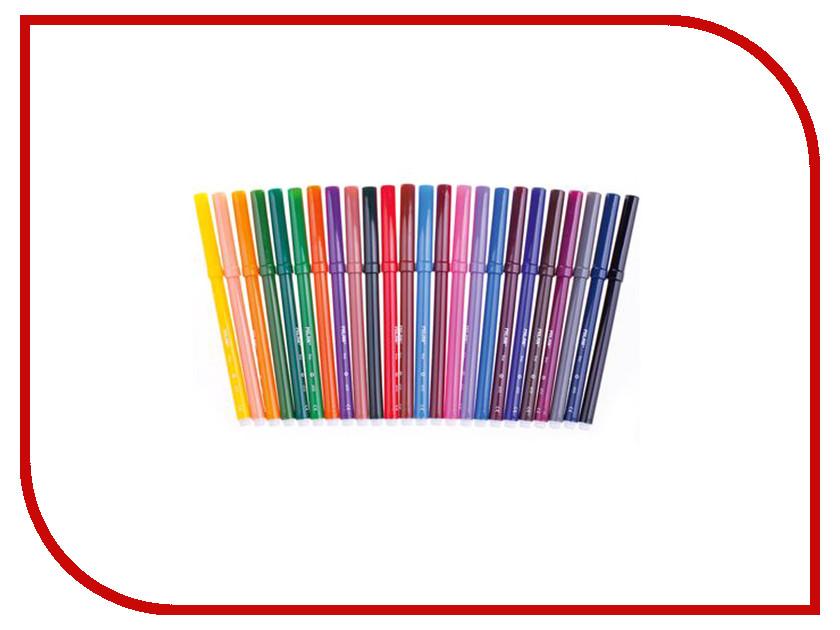 Фломастеры Milan 610 24 цвета 80159 / 209672 шариковая ручка автоматическая sponsor slp047 yl