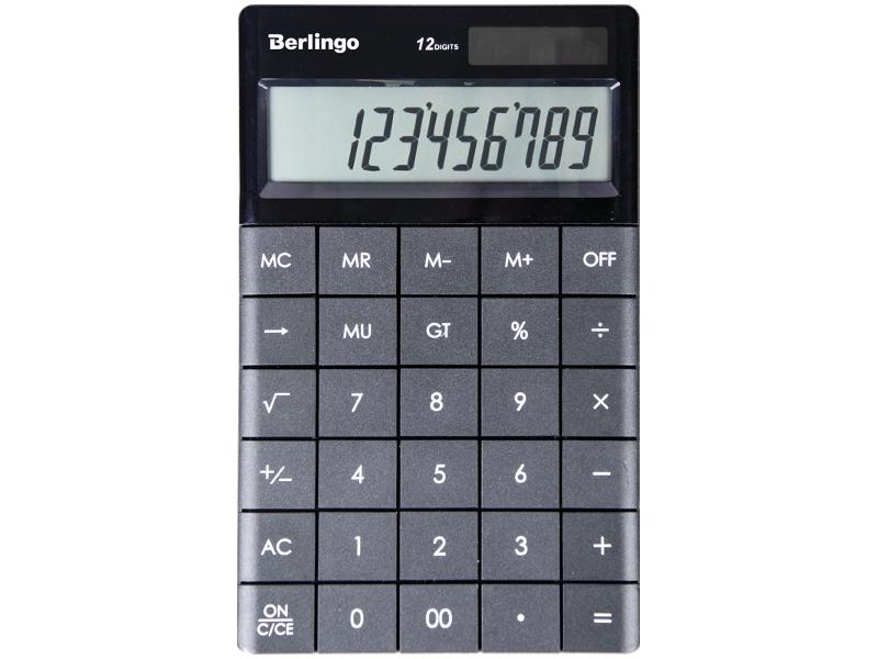 Калькулятор Berlingo CIA_100 / 243785 - двойное питание