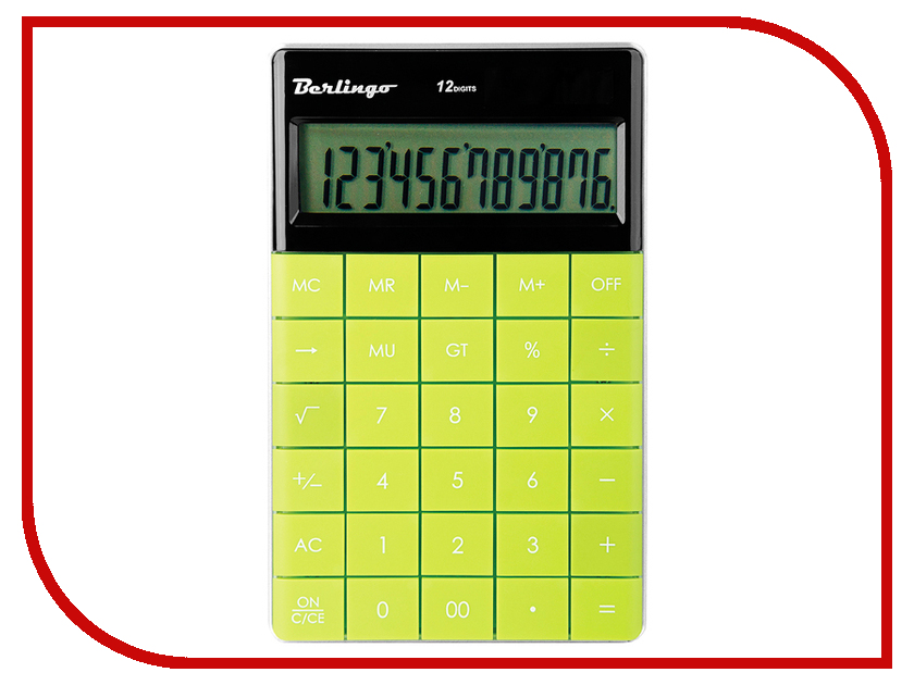 Калькулятор Berlingo CIG_100 / 235265 - двойное питание калькулятор citizen d 316 двойное питание
