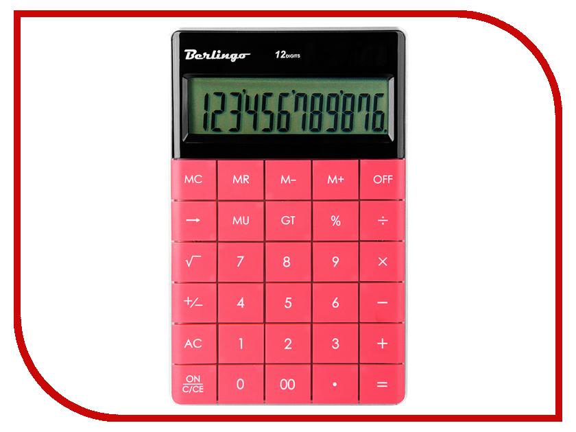 Калькулятор Berlingo CIP_100 / 235266 - двойное питание berlingo настольный калькулятор berlingo тёмно розовый
