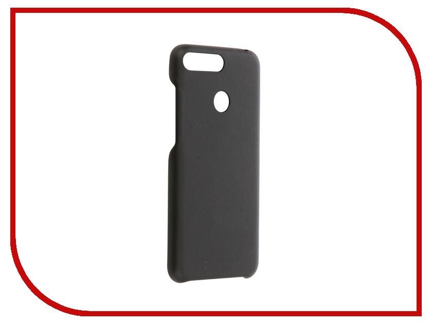 Аксессуар Чехол для Huawei Honor 7A Pro / Huawei Y6 2018 G-Case Slim Premium Black GG-954 g case slim premium чехол для apple iphone 7 plus black