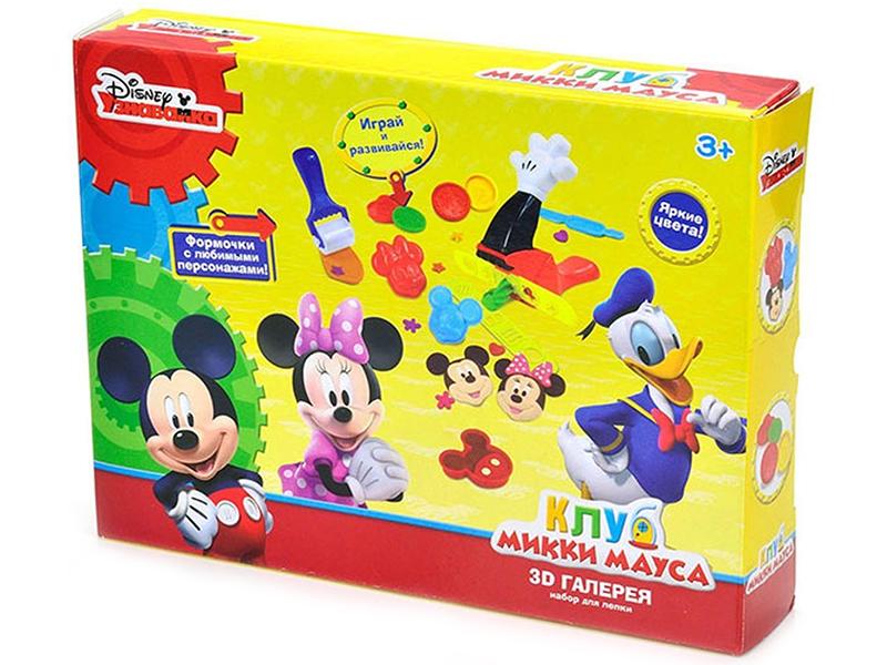 Набор для лепки Disney Клуб Микки Мауса 3D галерея