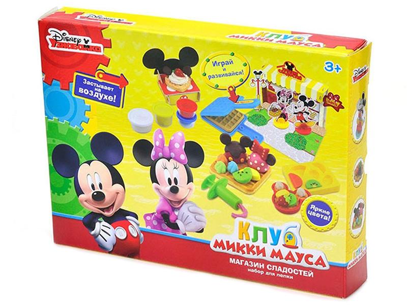Набор для лепки Disney Клуб Микки Мауса Магазин сладостей disney frozen игровой набор магазин сладостей эренделла