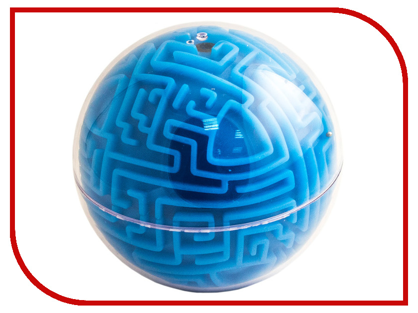 Головоломка Эврика Лабиринт Сфера Blue 98722 игрушка головоломка шар лабиринт 35 шагов d 16 5 26см