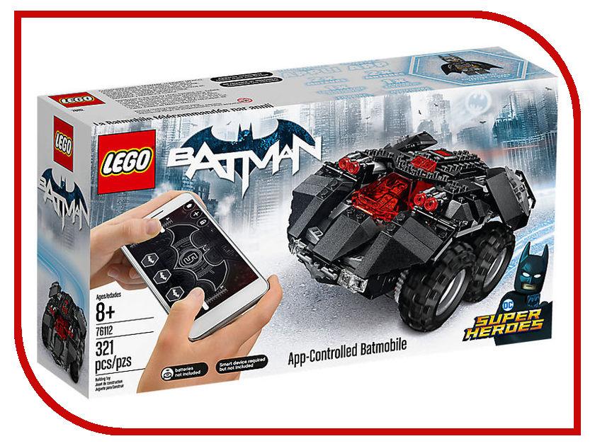 Конструктор Lego Super Heroes Бэтмобиль с дистанционным управлением 76112 инструмент force 61703 досмотровое зеркало с дистанционным управлением на гибком вале