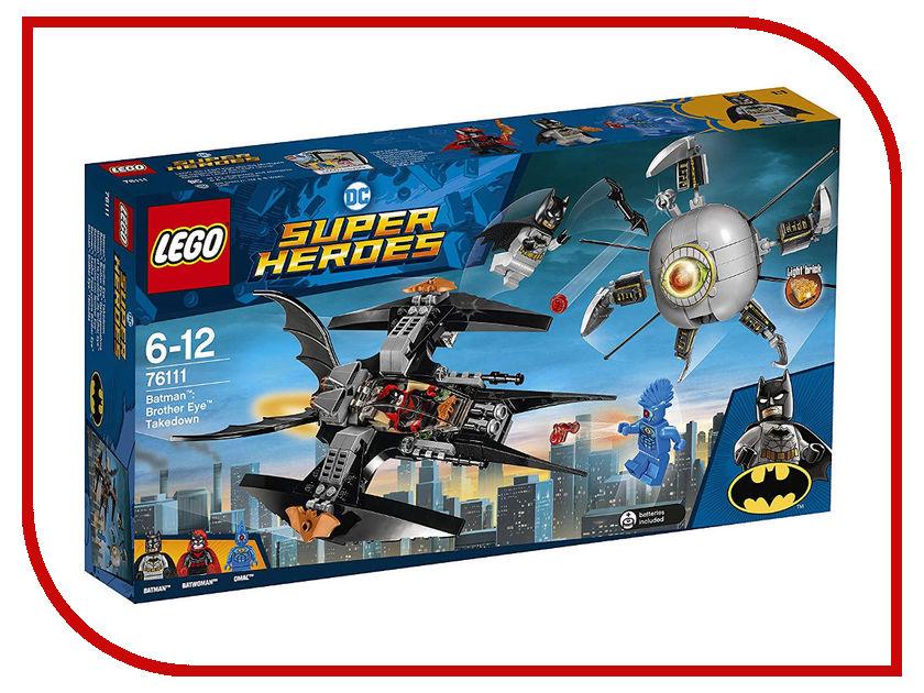 Конструктор Lego Super Heroes Бэтмен: Ликвидация Глаза брата 76111 фотобарабан cactus cs dr2275 black черный 12000стр для brother hl 2132 2240 2250 dcp 7057 7060 7065 7070 mfc 7360 7860 fax 2845 2940