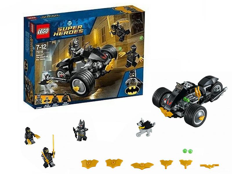 Конструктор Lego Super Heroes Бэтмен: Нападение Когтей 76110 цена и фото