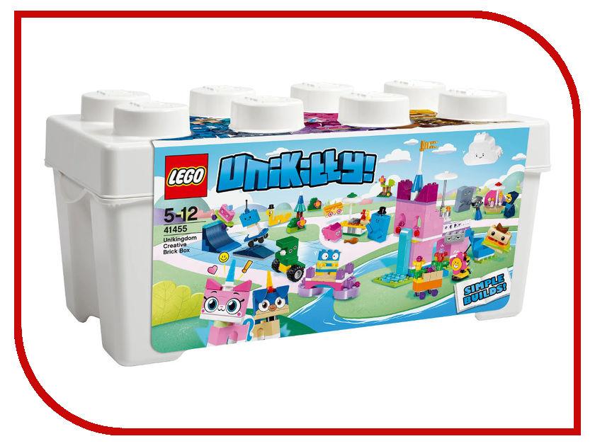 Конструктор Lego Unikitty Коробка кубиков для творческого конструирования Королевство 41455 конструктор lego unikitty лаборатория доктора фокса 359 элементов 41454