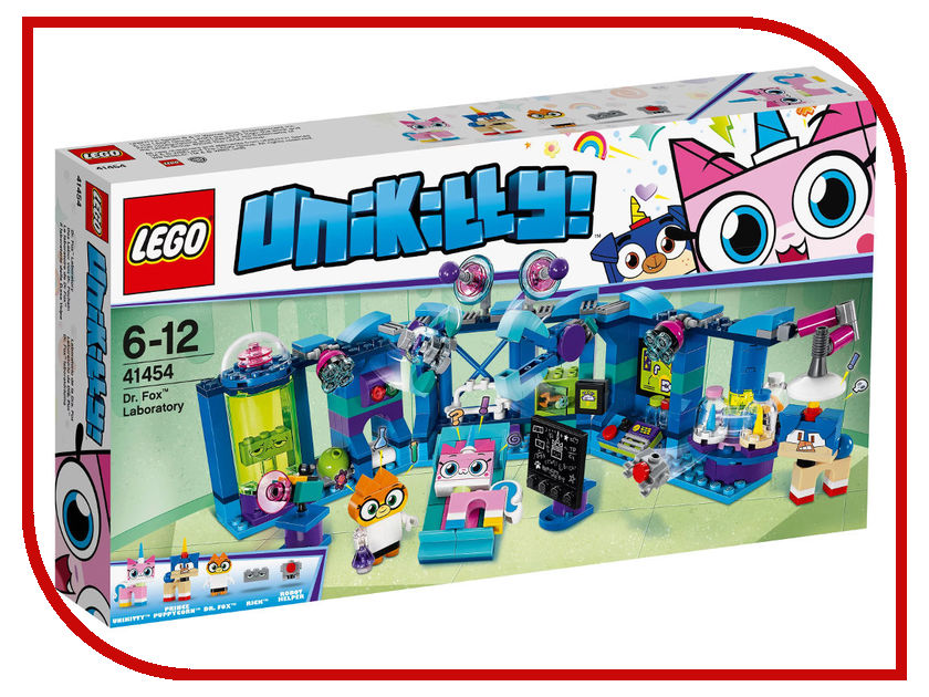 Конструктор Lego Unikitty Лаборатория доктора Фокса 41454