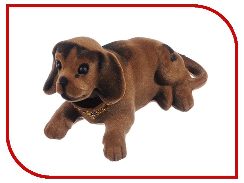 Купить 732-053, Собачка на приборную панель 13x8cm Brown, Без производителя