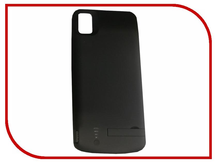 Аксессуар Чехол-аккумулятор для Huawei P20 Lite DF hwBattery-04 5000mAh Black