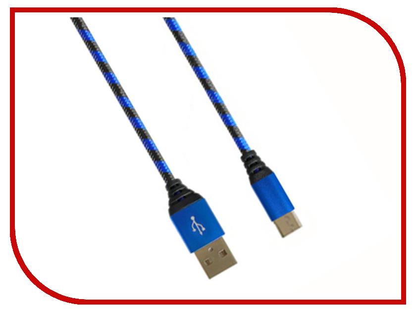 Аксессуар DF USB – MicroUSB 1m aZebra-02 Blue-Black стоимость