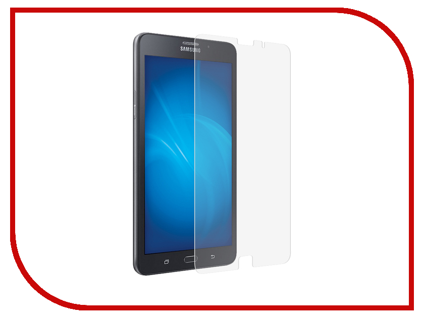 Аксессуар Закаленное стекло для Samsung Galaxy Tab A 7.0 SM-T285 DF sSteel-64 закаленное стекло для samsung galaxy j1 2016 df ssteel 49