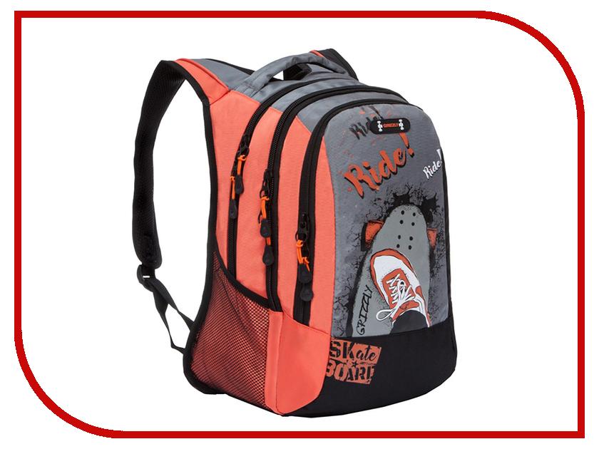 Рюкзак Grizzly RU-804-1/3 Orange grizzly ru 623 1 3