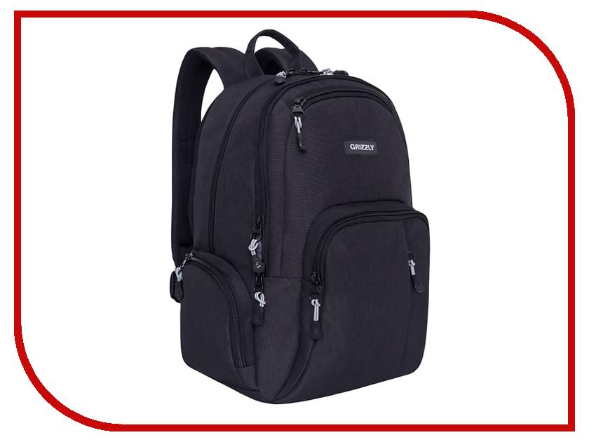 Рюкзак Grizzly RU-807-1/2 Black рюкзак городской grizzly цвет серый ru 809 1 1