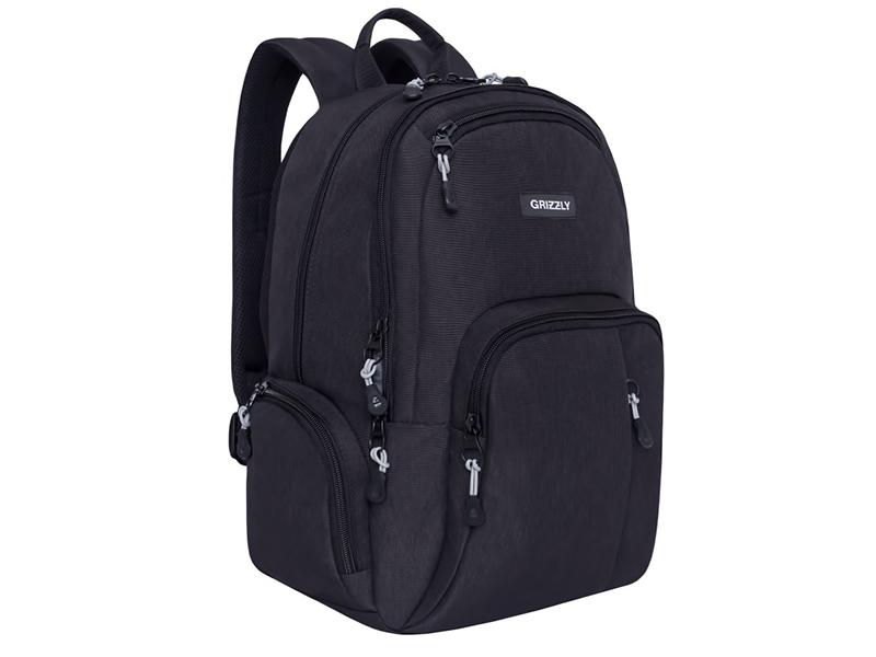 Рюкзак Grizzly RU-807-1/2 Black 1ps ru как подготовитьсайтза1