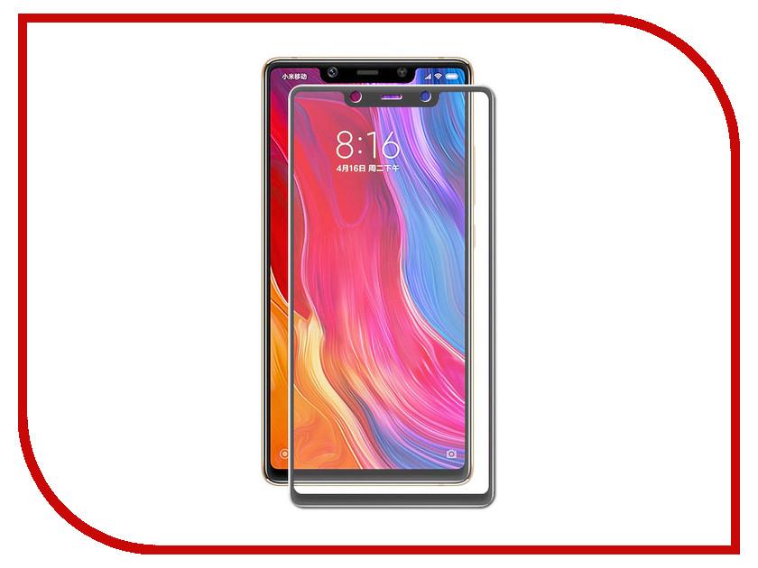 Аксессуар Защитное стекло для Xiaomi Mi 8 SE Solomon Full Cover Black wierss коричневый для xiaomi mi 8 se