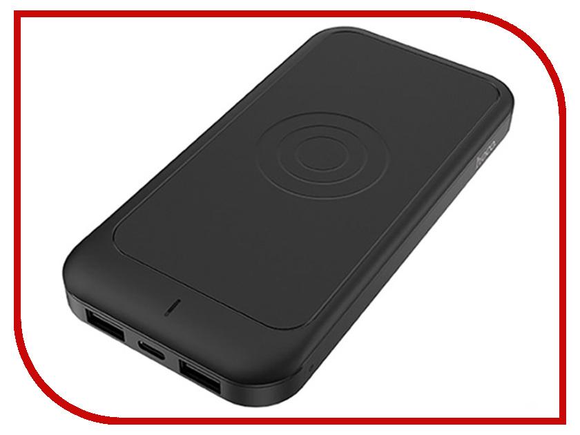 Фото - Аккумулятор HOCO J14 10000mAh с функцией беспроводной зарядки Black аккумулятор ainy e82 001k 10000mah с функцией беспроводной зарядки grey