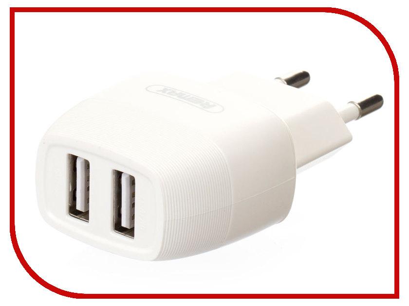 Зарядное устройство Remax Flinc RP-U29 2.4A White внешние аккумуляторы remax power bank 20000 mah remax rp v20 vanguard чёрный