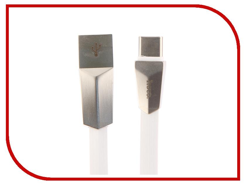 Аксессуар HOCO Zinc Alloy Rhombus X4a USB - Type-C White gps навигатор prestigio geovision 5059 navitel темно серый