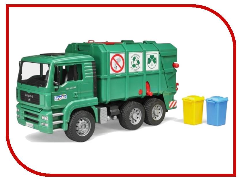 Игрушка Bruder MAN TGA (02-753) 1:16 50 см bruder мусоровоз mack 02 812