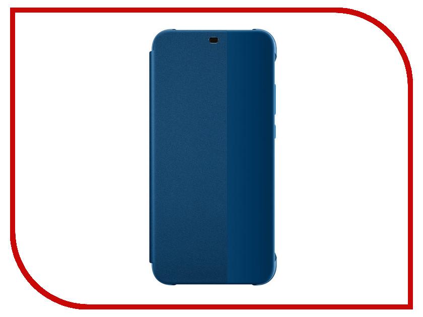 Аксессуар Чехол Huawei P20 Lite Blue 51992314 цена