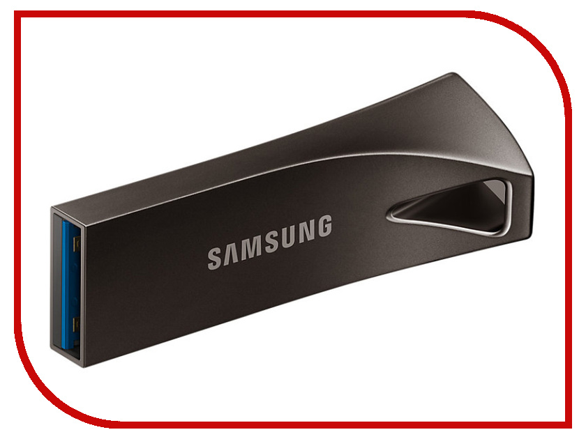 USB Flash Drive 64Gb - Samsung BAR Plus MUF-64BE4/APC флешка 32гб samsung bar usb 3 0 muf 32ba apc