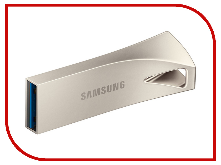 USB Flash Drive 64Gb - Samsung BAR Plus MUF-64BE3/APC флешка 32гб samsung bar usb 3 0 muf 32ba apc