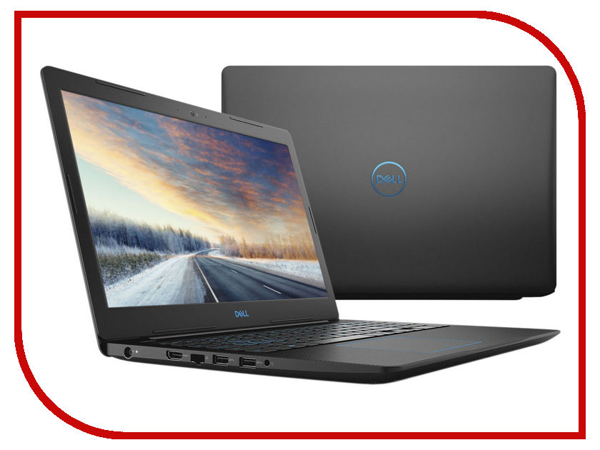 Ноутбук Dell Inspiron G3-3579 G315-7176 (Intel Core i5-8300H 2.3 GHz/8192Mb/1000Gb + 128Gb SSD/nVidia GeForce GTX 1050 4096Mb/Wi-Fi/Bluetooth/Cam/15.6/1920x1080/Linux) ноутбук msi gt72 6qd 845xru 9s7 178211 845 intel core i7 6700hq 2 6 ghz 8192mb 1000gb dvd rw nvidia geforce gtx 970m 3072mb wi fi bluetooth cam 17 3 1920x1080 dos