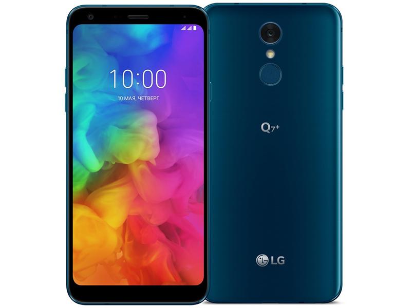 Сотовый телефон LG Q610NA Q7+ 64Gb Blue