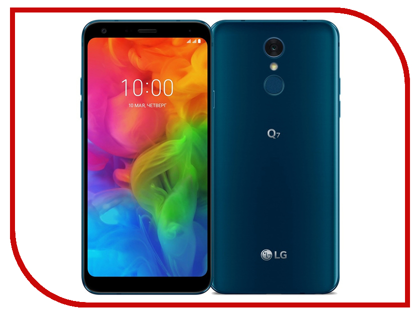Сотовый телефон LG Q7 32Gb Blue hugo boss boss orange sunset
