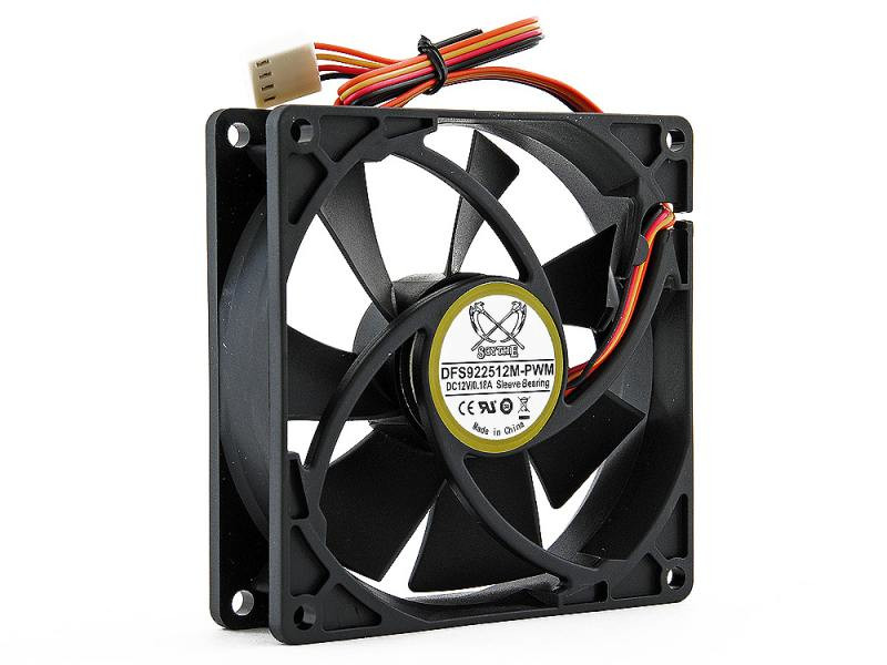 Вентилятор Scythe Kama DFS922512M-PWM 92mm 200-2500rpm вентилятор scythe kaze flex 120mm pwm fan 800rpm su1225fd12l rdp