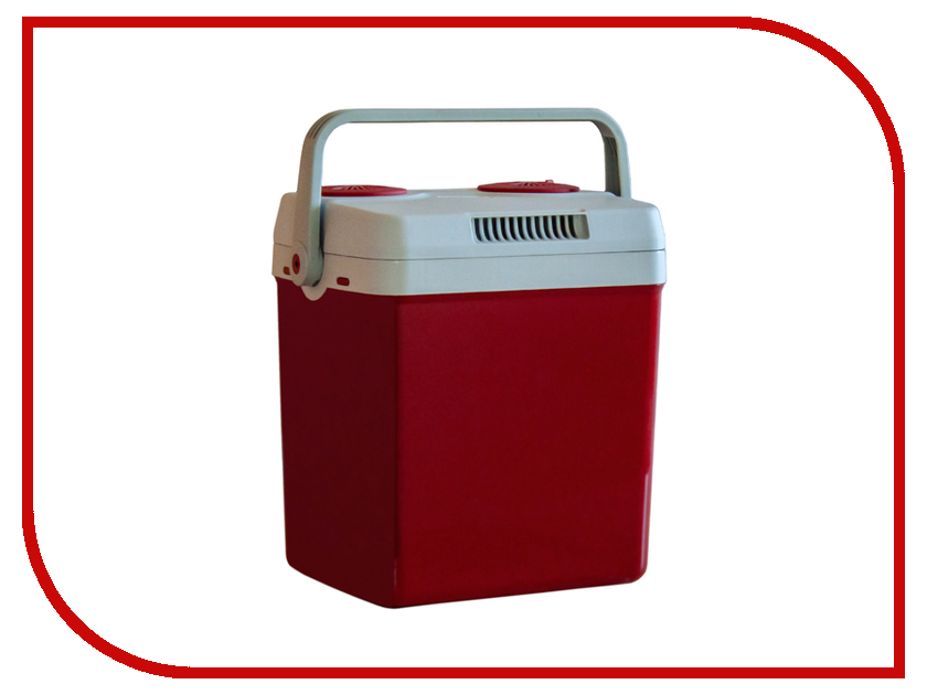 Холодильник автомобильный Aqua Work YT-A-26X 25L Red
