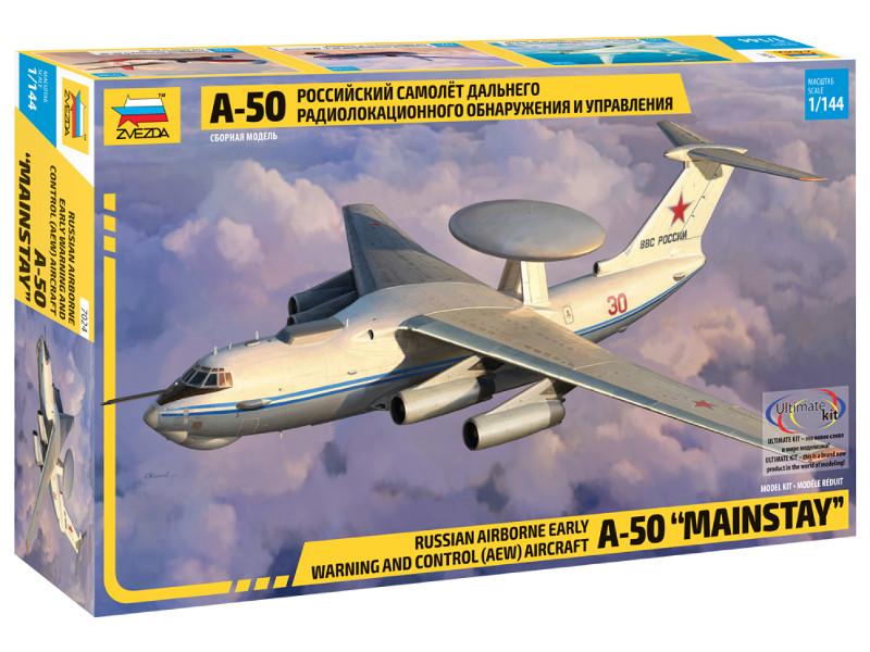 Сборная модель Zvezda А-50 7024