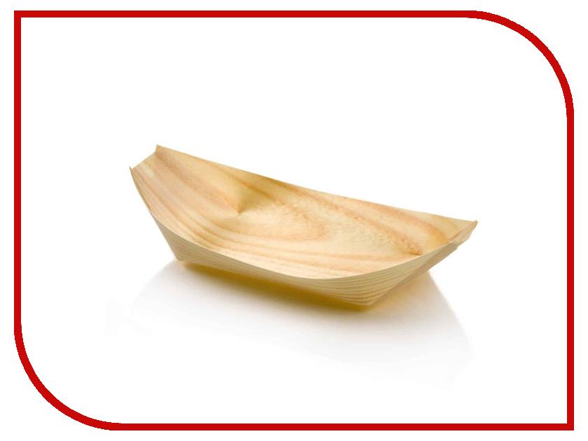 Одноразовые лодочки Ecovilka 240mm 50шт ЛОД240 одноразовые тарелки ecovilka 50шт dtkr190