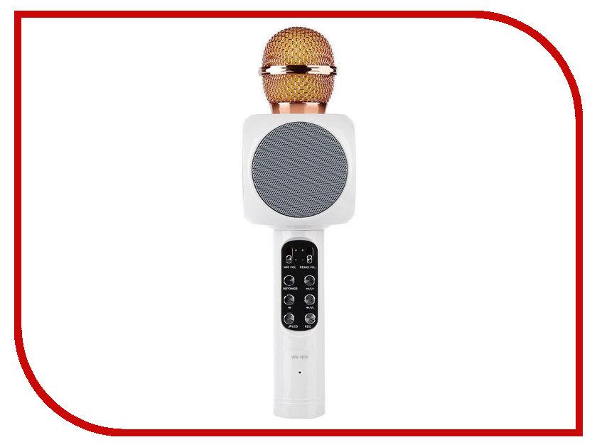 Караоке Handheld KTV WS-1816W White handheld 2 4ghz wireless visible laser barcode scanner gun white